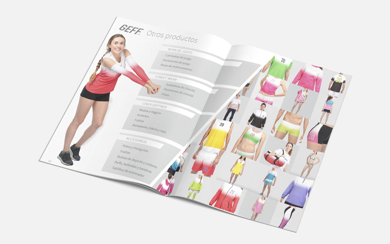 Catálogo para GEFF Sport - Lucidez Creativa